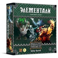 Кромешная Тьма: Элементали. Набор врагов (Massive Darkness: Enemy Box - Elementals)