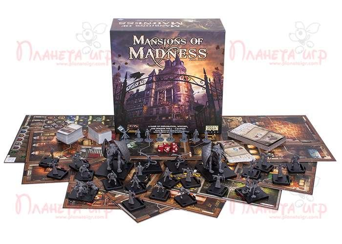 Особняк Безумия (2-е изд.) (Mansions of Madness: Second Edition)