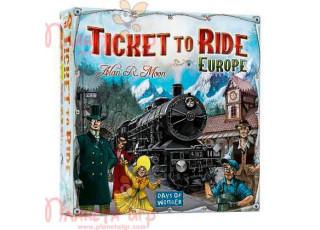 Билет на поезд. Европа (Ticket to ride. Europe)