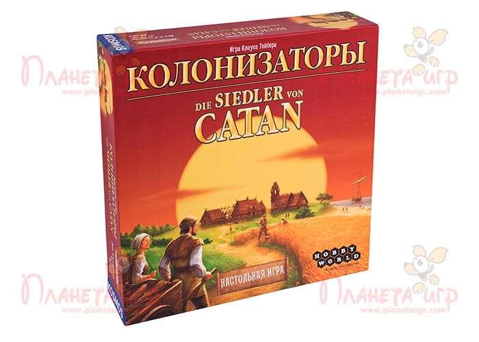 Колонизаторы (The Settlers of Catan)