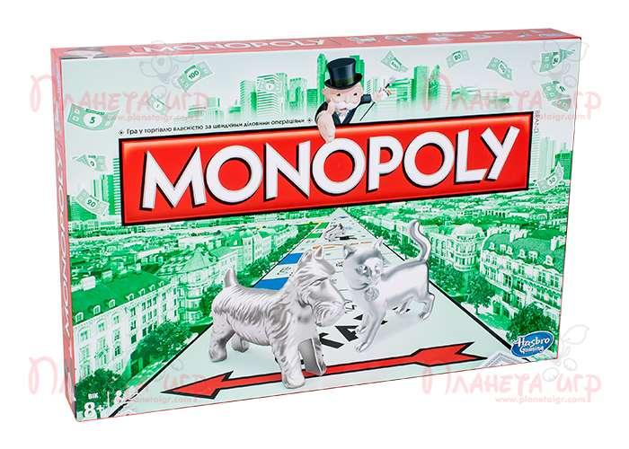 Классическая Монополия. Обновленная версия (Monopoly) (укр.)