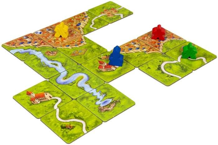 Каркассон 2.0 + Река + Аббат (Carcassonne 2.0 + The River + Abbot)