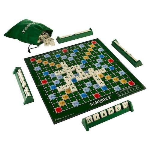 Скрабл (Scrabble) (англ.)