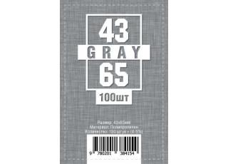 Протекторы (кармашки) для карт (43 мм х 65 мм, 100 шт.)