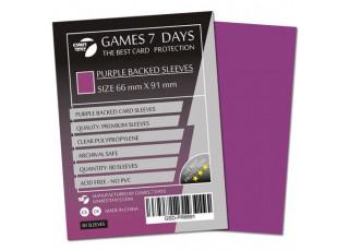 Протекторы для карт Games7Days (66 х 91 мм, MTG, 80 шт.) Purple (PREMIUM)