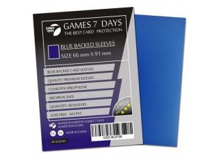 Протекторы для карт Games7Days (66 х 91 мм, MTG, 80 шт.) Blue (PREMIUM)