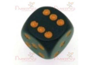 """Кубик """"Простой"""", D6, 12 мм, с круглыми углами (в ассорт.)"""