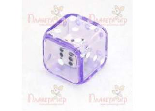 """Кубик """"Шестигранный кубик в кубике"""", D6, 19 мм (в ассорт.)"""