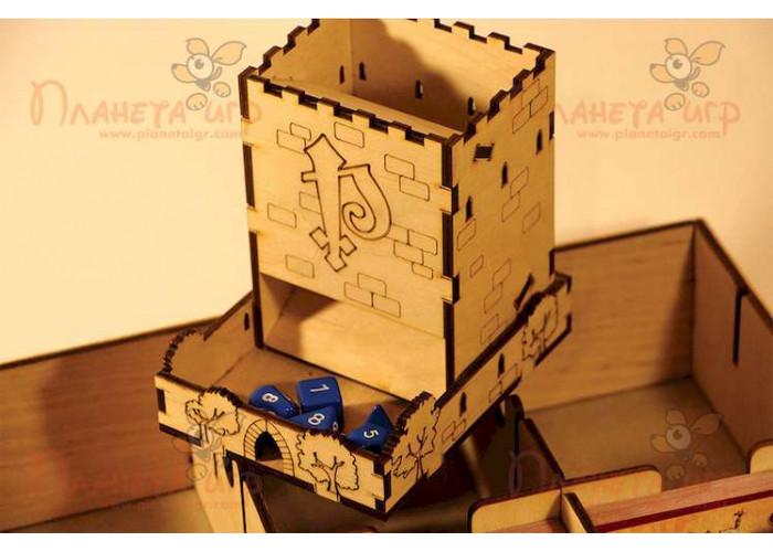Органайзер: Pathfinder + Башня для бросания кубиков