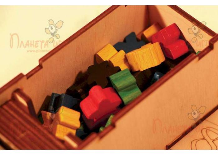 Дорожный пенал (Travel Box) (для игры Каркассон): берём любимую игру на отдых!