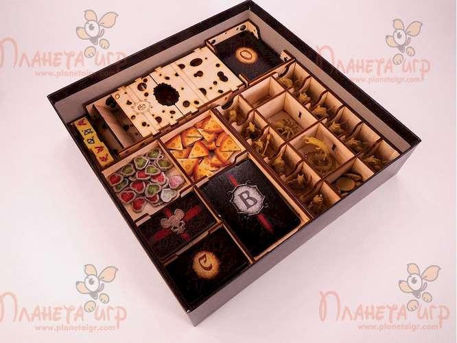 Органайзер: О мышах и тайнах (Mice and Mystics) + Башня для бросания кубиков