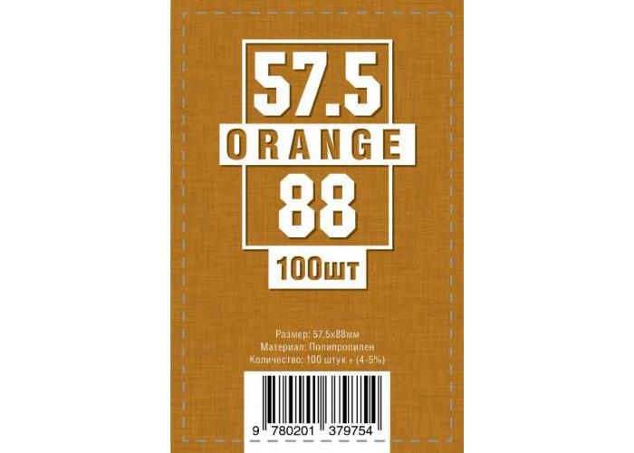 Протекторы (кармашки) для карт (57,5 мм х 88 мм, 100 шт.)