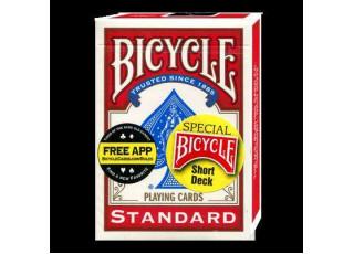 Карты для фокусов Bicycle Short Deck (укороченная колода)