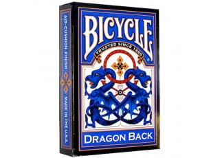 Карты игральные Bicycle Dragon (red, blue)