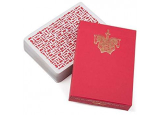 Карты игральные Ellusionist Knights (red)