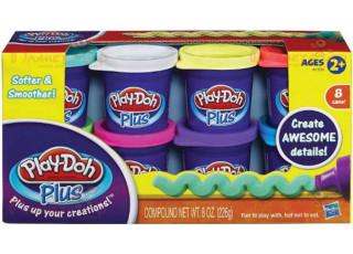 Набор для лепки Play-Doh. 8 баночек по 130 г