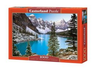 Пазл Горное озеро, Канада, 1000 эл.