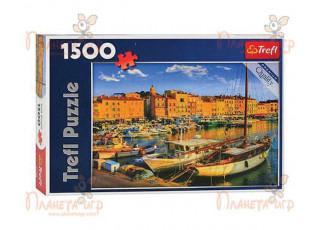 Пазл Старый порт в Сен-Тропе, 1500 эл.