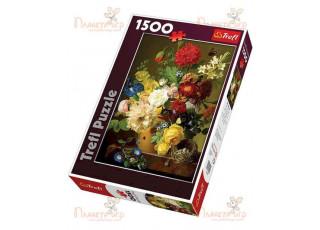 Пазл Натюрморт с цветами, 1500 эл.