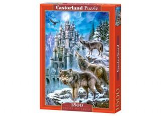 Пазл Волки и замок, 1500 эл.