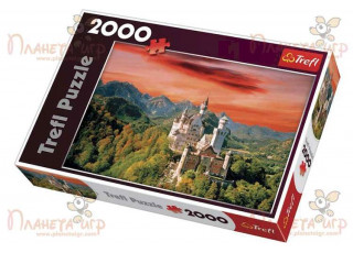 Пазл Замок Нойшванштайн, Бавария, 2000 эл.