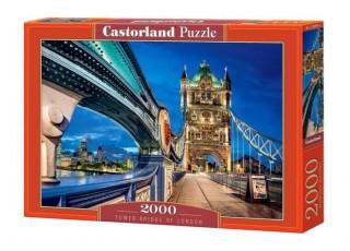 Пазл Тауэрский мост Лондона, 2000 эл.