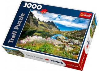 Пазл Старолеснянский пруд, Татры, Словакия, 3000 эл.