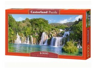 Пазл Водопады Крка, Хорватия, 4000 эл.