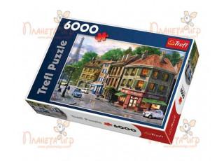 Пазл Улица Парижа, 6000 эл.