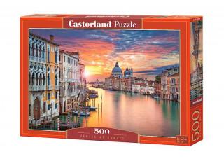 Пазл Венеция на закате, 500 эл.