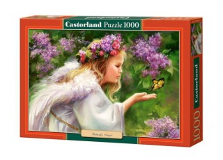 Пазл Ангел с бабочкой, 1000 эл.