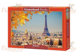 Пазл Осень в Париже, Франция, 1000 эл.