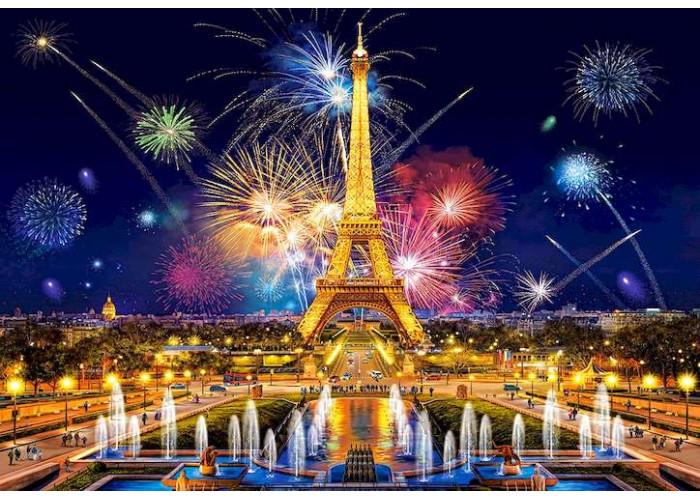 Пазл Очарование ночи, Париж, 1000 эл.