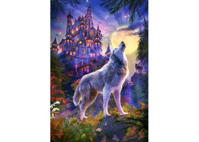 Пазл Волчий замок, 1000 эл.