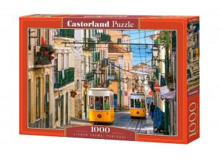 Пазл Лиссабонские трамваи, Португалия, 1000 эл.