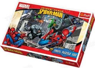 Пазл Нападение, Человек-паук, 100 эл.