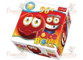 Пазл 3D шар Faceball красный, 96 эл.