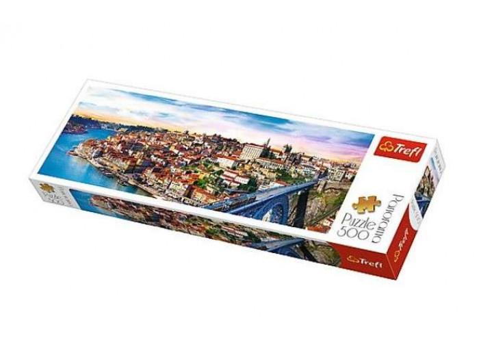 Пазл Порту, Португалия, 500 эл. (панорама)