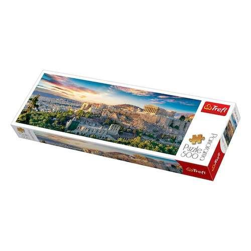 Пазл Акрополис, Афины, 500 эл. (панорама)
