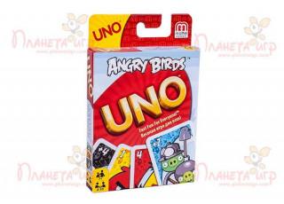 Уно Сердитые птички (Энгри бёрдз) (Uno Angry birds)
