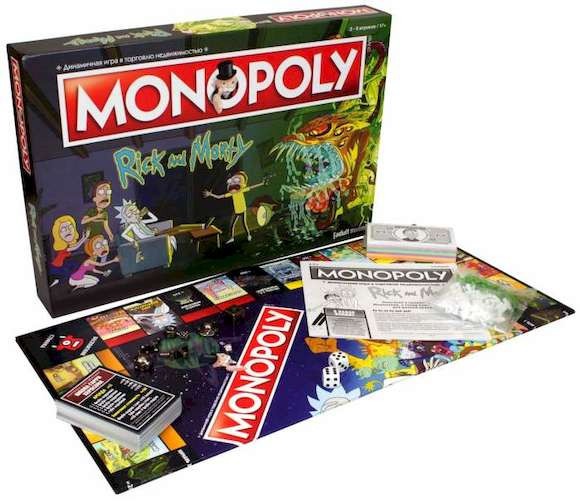 Монополия. Рик и Морти (Monopoly: Rick and Morty)
