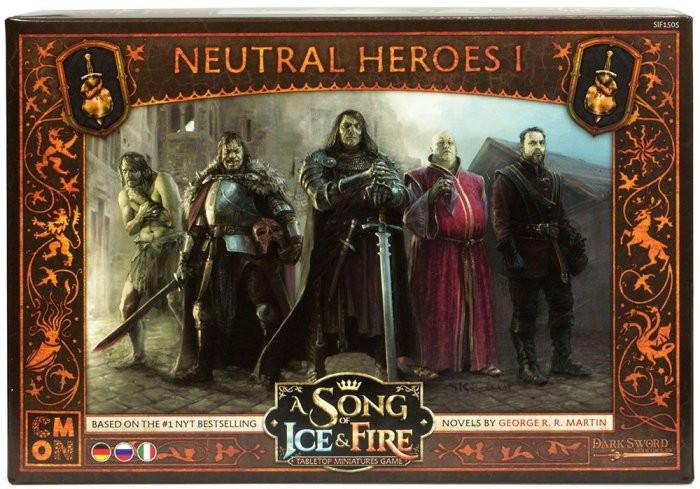 Песнь Льда и Огня: Нейтральные герои I (A Song of Ice & Fire: Tabletop Miniatures Game – Neutral Heroes I)