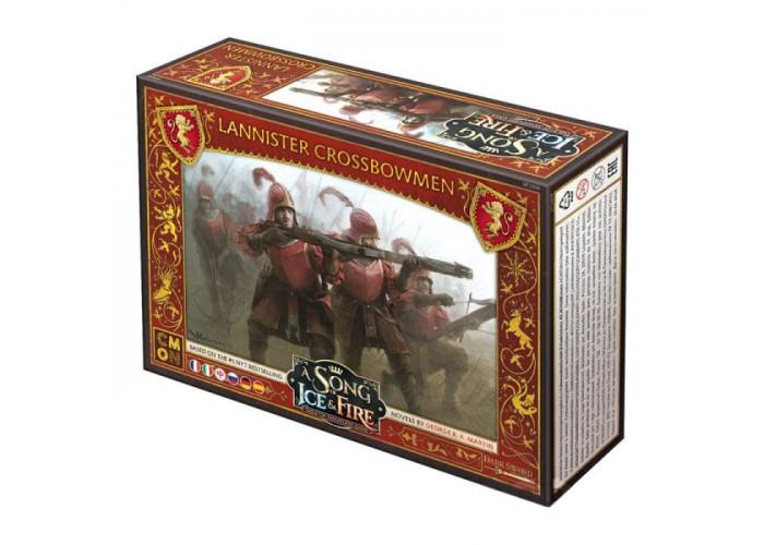 Песнь Льда и Огня: Арбалетчики Ланнистеров (A Song of Ice & Fire: Tabletop Miniatures Game – Lannister Crossbowmen)
