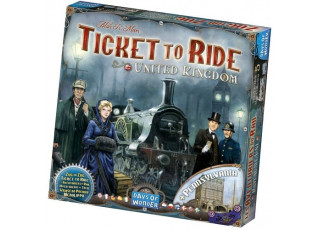 Билет на поезд: Великобритания и Пенсильвания (Ticket to ride: UK & Pennsylvania)