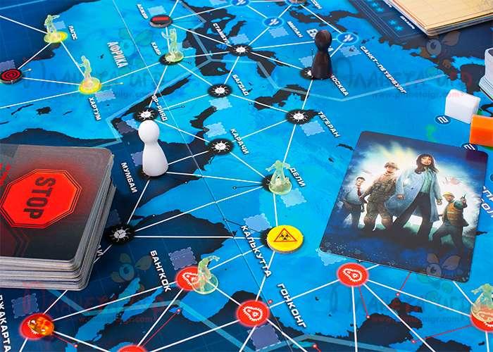 Пандемия: Наследие. Сезон 1 (синяя) (Pandemic Legacy: Season 1, blue)