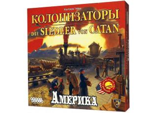 Колонизаторы. Америка (Catan Histories: Settlers of America. Trails to Rails)