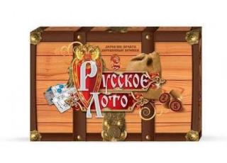 Русское лото (деревянные бочонки)