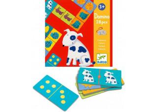 Детское домино. Цвета животных (Domino Colours, 28 pcs)