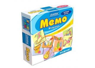 Мемо Игрушки