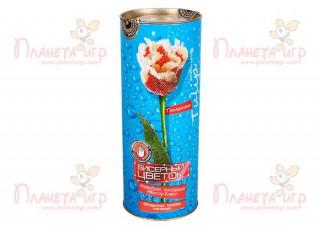 Цветок из бисера. Тюльпан